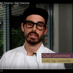 Screenshot from video of Chef Greenway