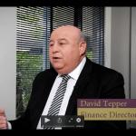 Screenshot of video featuring David Tepper