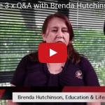 Screenshot of video featuring Brenda Hutchinson